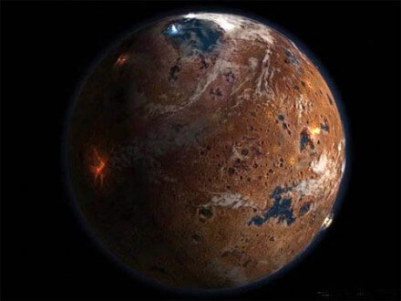 Marte foto da Sonda Phoenix