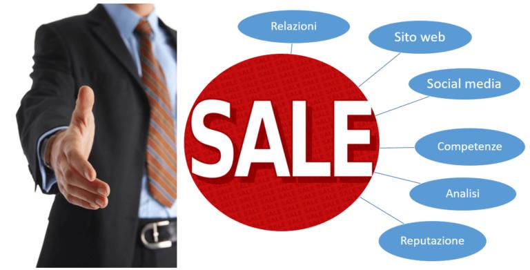 Rappresentante commerciale diventa un nuovo tipo di sales manager