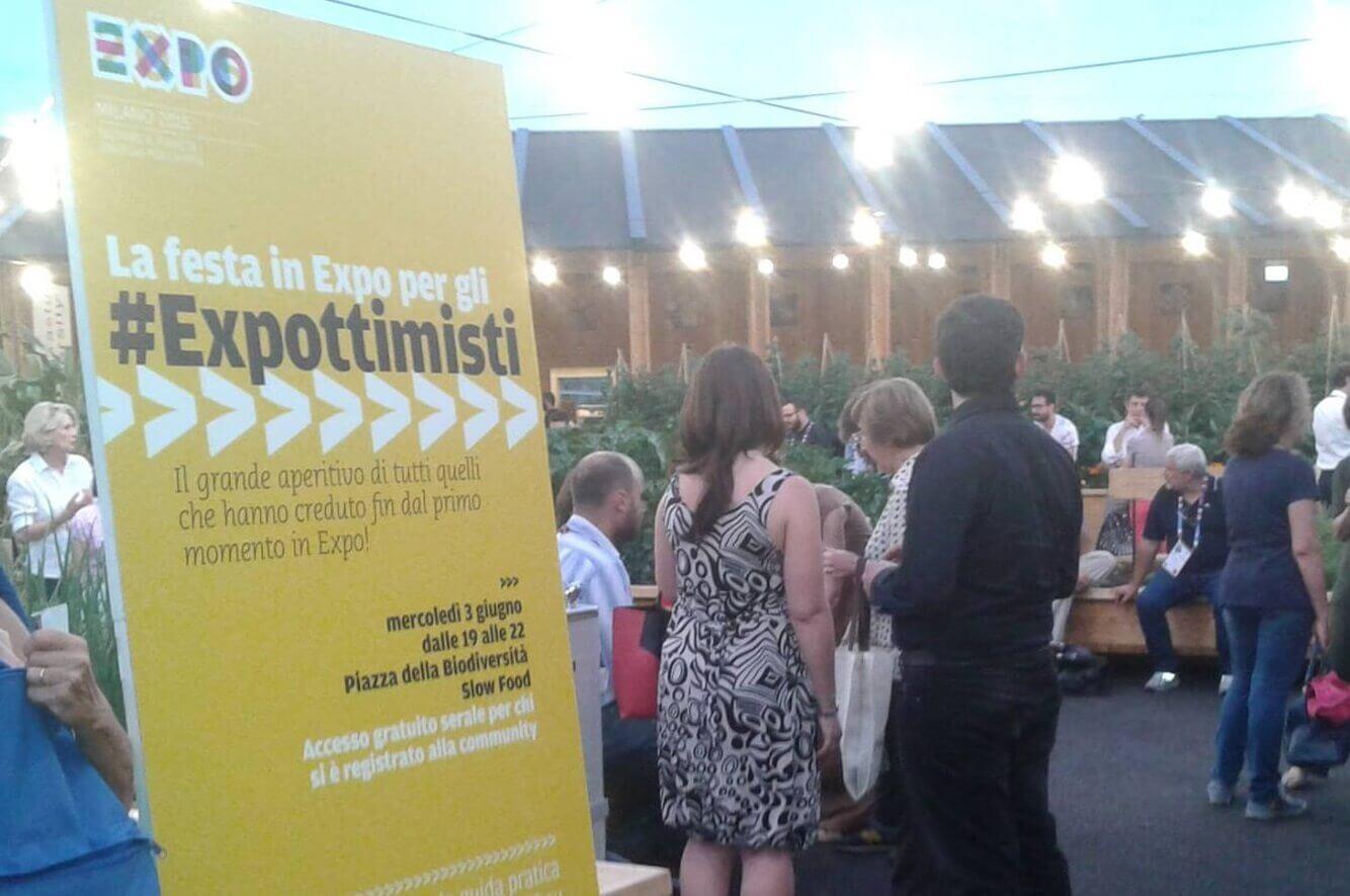 Expottimisti evento 3 giugno 2015