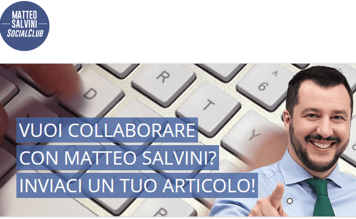 Matteo Salvini social club