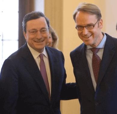 Draghi e Weidmann