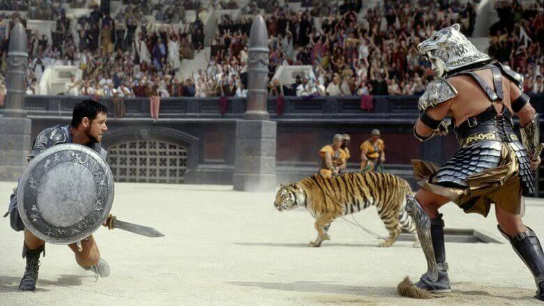 Gladiatori nell'arena