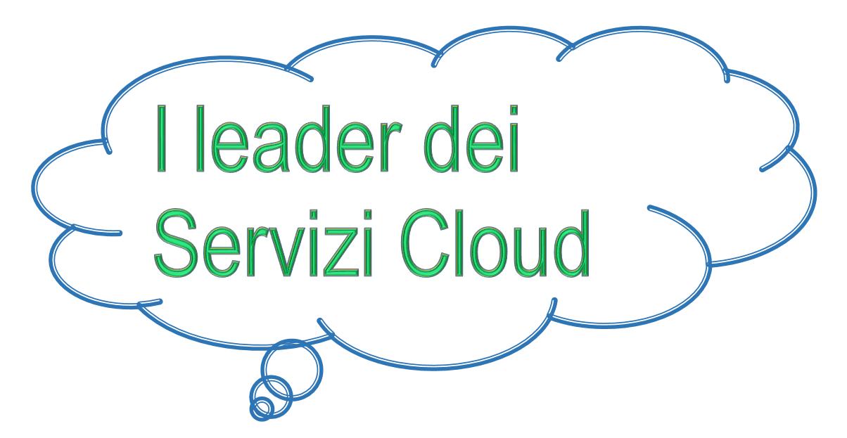 I leader dei servizi cloud